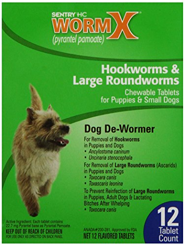 B Sentry HC WormX Dog Dewormer, Small Dogs, 12ct