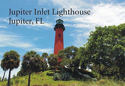 Jupiter Inlet Lighthouse, Jupiter Florida, FL, Souvenir Magnet 2 x 3 Photo Fridge Magnet