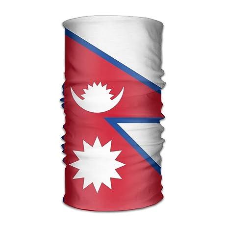 Amazon.com : Headband Bandanas Flag Map Of Nepal Versatile Daily ...