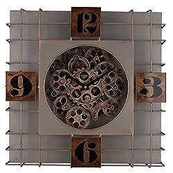 A&B Home Menifee Wall Clock, 19.5-Inch