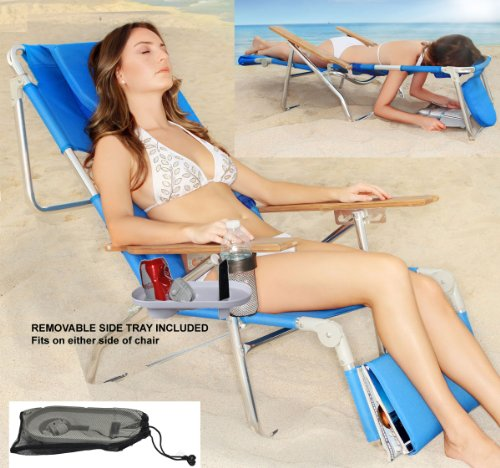 Super Deluxe Padded 3 in 1 Beach Chair / Lounger by Ostrich (Image #2)