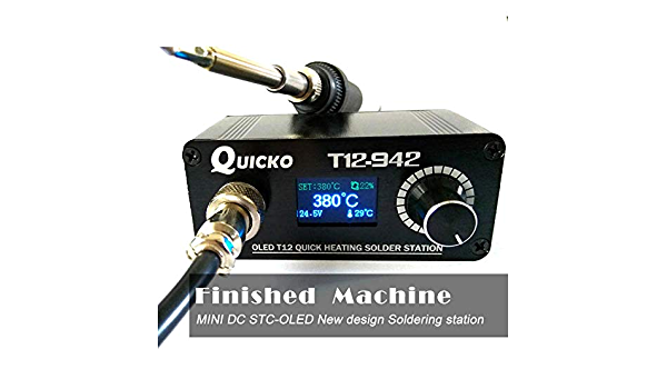 T12-952//T12-942 OLED Soldering Station Electronic Welding Iron Digital Display