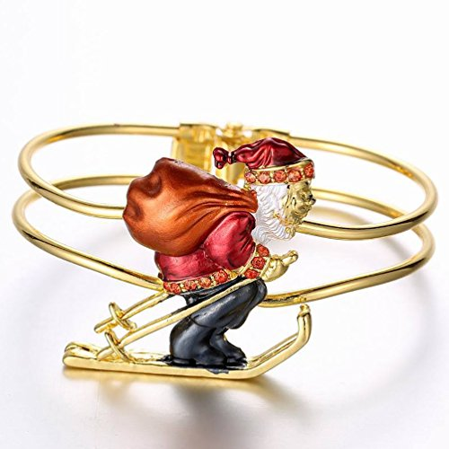 Mrs Claus Costume Images (Superhai Christmas Gifts Santa Claus Bicyclic Buckle Bracelet Bracelet)