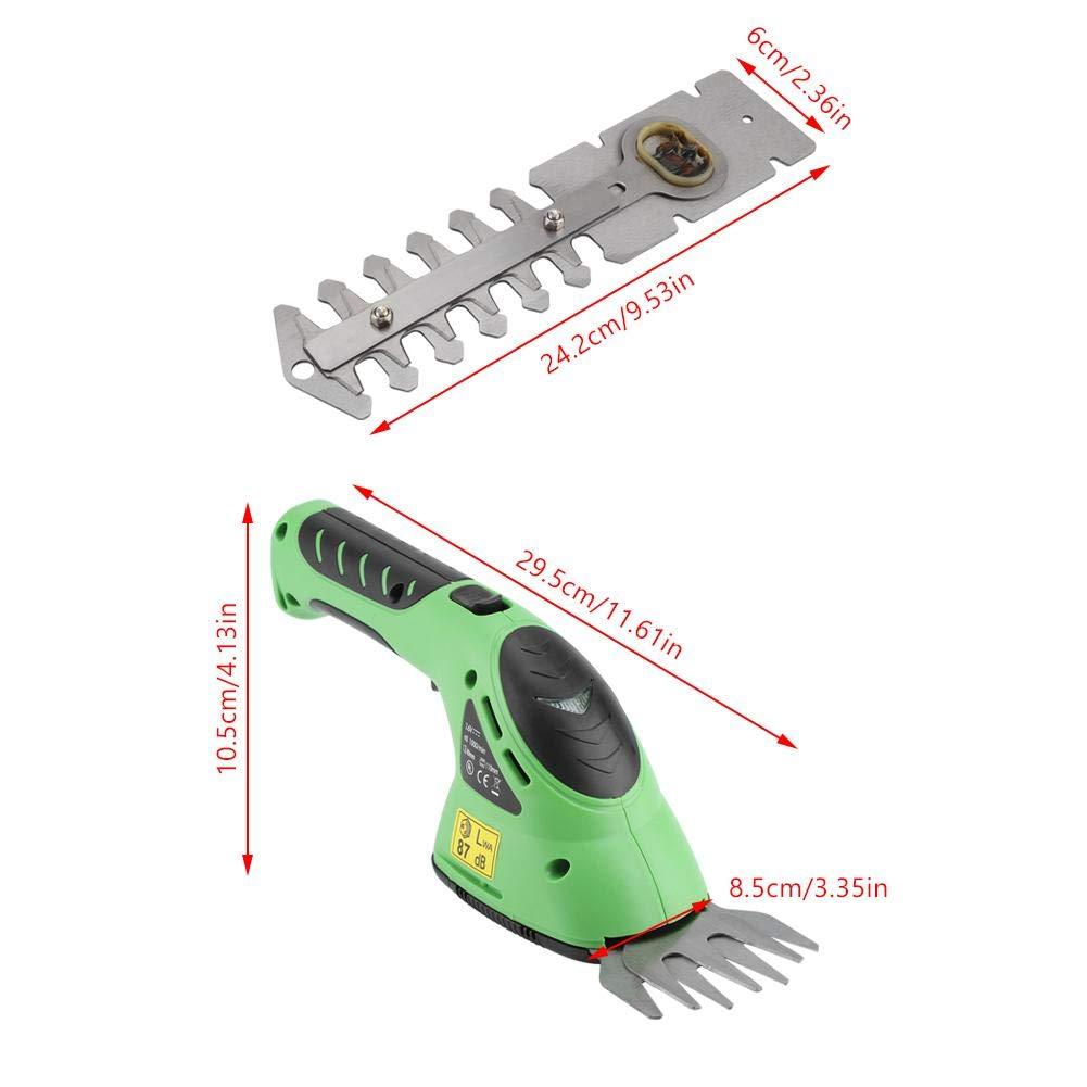 Qinlorgo Herramientas de jardín de cortacésped eléctrico ...