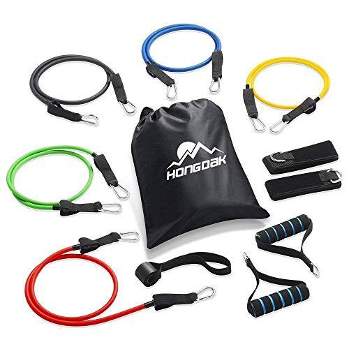 HONGDAK Resistance Bands, Exercise Bands For Training