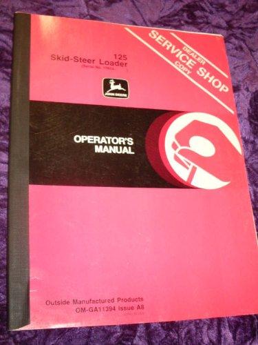 John Deere 35 Integral Rotary Tiller OEM OEM Owners Manual