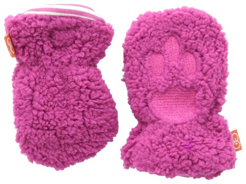 (Magnificent Baby Baby-Girls Infant Smart Mittens, Raspberry, 0-6 Months)