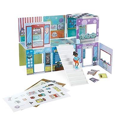 MindWare WONDERHOOD kit: Corner Shops and Character Figures: Toys & Games