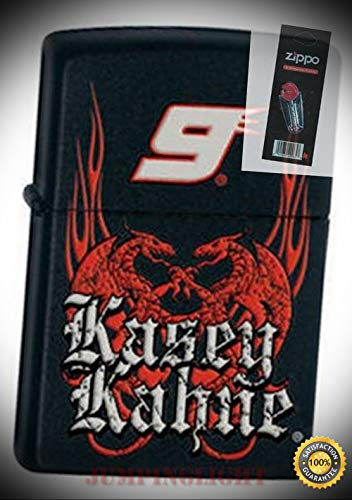 24728 Kasey Kahne #9 Lighter with Flint Pack - Premium Lighter Fluid (Comes Unfilled) - Made in USA!