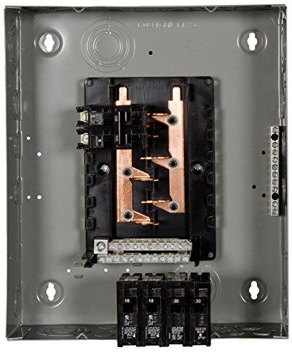 Amp Main Breaker Panel (Siemens E1020MB1100FCGP 100-Amp Indoor Narrow Width Renovation Main Breaker Load Center, 10-Space 20-Circuit)