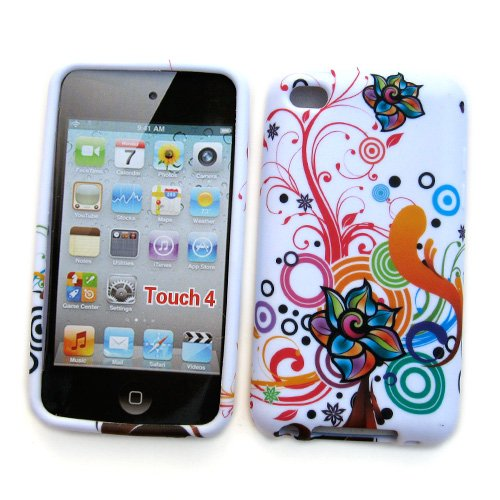 Apple iPod Touch 4th Generation Crystal Silicone Skin Case