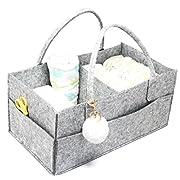 ECOHIP Diaper Caddy, Diaper Stacker, Diaper Organizer, Diaper holder, Changing Table Organizer, Nursery Storage Bin
