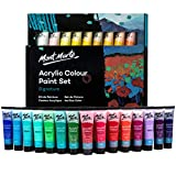 Mont Marte Signature Acrylic Paint Set, 36 colors x