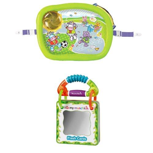 Lápiz de memoria Munchkin bandeja acolchada de viaje silla de ruedas eléctrica con tarjeta de felicitación de hannukah: Amazon.es: Bebé