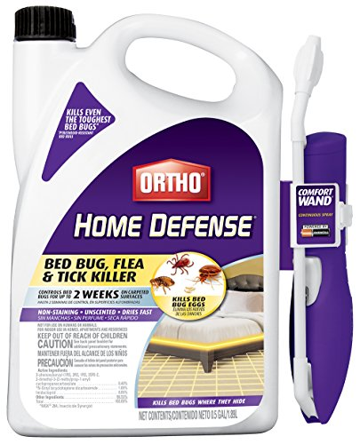 Ortho 0202510 Home Defense Max Bed Bug, Flea and Tick Killer 0.5 Gal/1.89L by Ortho