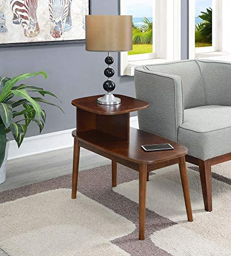 Convenience Concepts Maxwell Mid Century End Table, Espresso