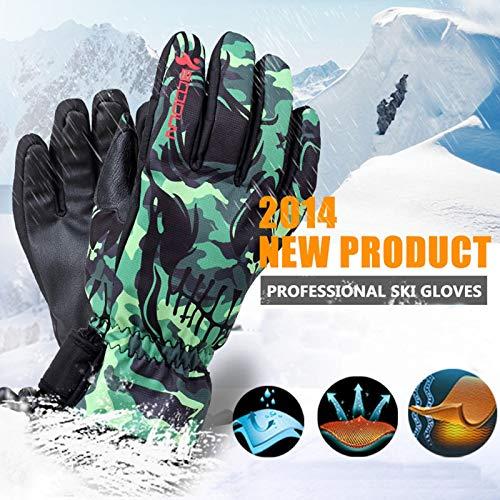 Hiver 1 Tactile Hommes Style Amdxd Écran Ski Gants Flower 8OSwB