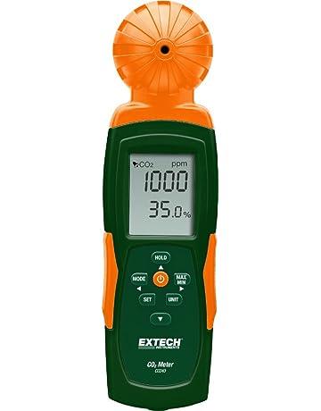 Extech CO240 Medidor portátil de calidad del aire y dióxido de carbono para interiores