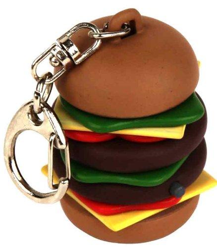 Kikkerland KRL35-EU Burger Keychain CDU CARDED