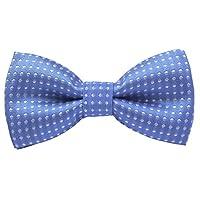 Pomlia Handmade Boys Polka Dot Bow Tie