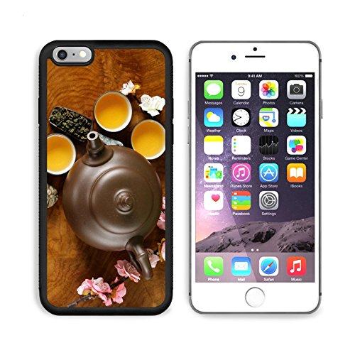 MSD Premium Apple iPhone 6 Plus iPhone 6S Plus Aluminum Backplate Bumper Snap Case IMAGE ID: 38931021 tea set teapot cups and different green tea