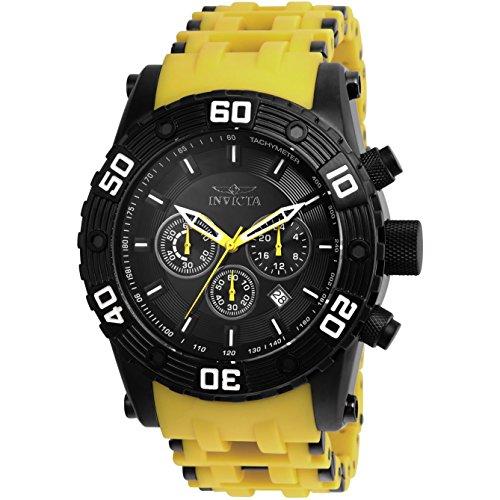 (Invicta Men's 23757 Sea Spider Quartz Chronograph Black Dial Watch)