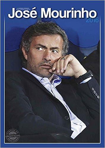 Jose Mourinho A3 2016 Calendar (Red Star)