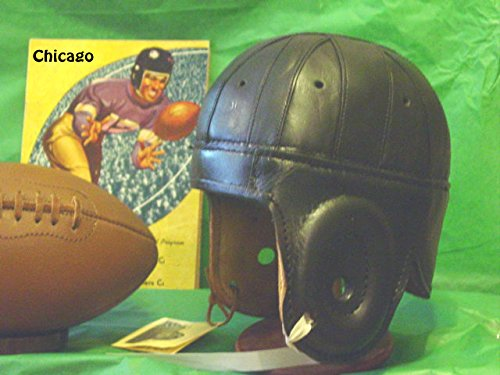 1940 Old Chicago Red Grange Leather football - 1940 Chicago
