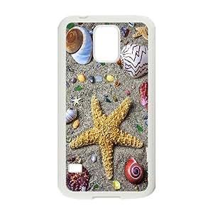 High Quality Phone Back Case Pattern Design 19Sea Star & Sea Dragon- For Samsung Galaxy S5