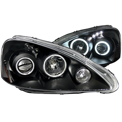 Anzo USA 121197 Acura RSX Projector with Halo Black Clear Headlight Assembly - (Sold in Pairs)