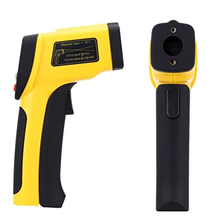 High Precision Double Laser termometro digital infravermelho infrared thermometer Non-contact IR Temperature Tester Pyrometer