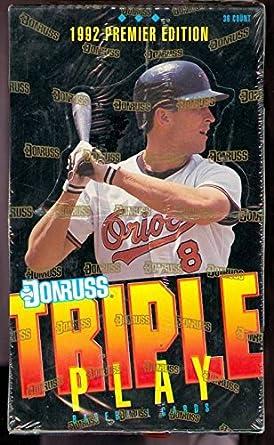 1992 Donruss Triple Play Baseball Trading Card Set Wax Pack