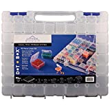DotBox Large Set 95 pc from Cottage Mills. 94 storage boxes in a carrying case. It's the ultimate small item storage system. Perfect for bead, jewelry, craft and small part storage.