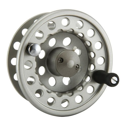 (Okuma SLV- 2/3 Diecast Aluminum Fly Reel, Light Silver, 50/12)