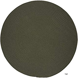 product image for Rhody Rug Madeira Indoor/Outdoor Braided Rug Sage