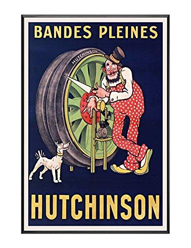 BaikalGallery Hutchinson Tyres Cartel Vintage Enmarcado ...