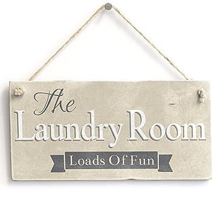 Amazon.com: Home Decor Plaque Sign The Laundry Room Loads Of ...