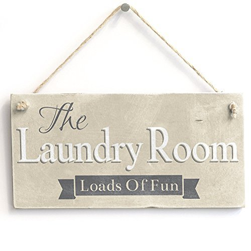 Acuve The Laundry Room Loads of Fun - Cartel rústico para ...