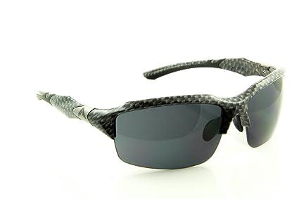 Gafas de sol del deporte WrApz Interceptor - carbono estilo ...