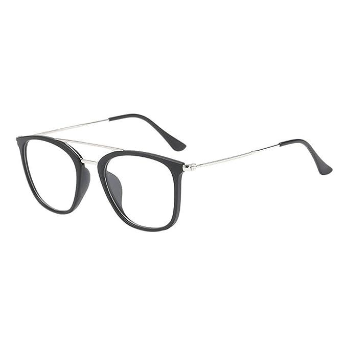 50f668f5c9f1d Hzjundasi Unisexo Moda Hombres Mujer Durable Miopía Gafas Corto Distancia  Lentes Conducción Miope Eyewear -0.50~-6.00 (Estas son no gafas de  lectura)  ...