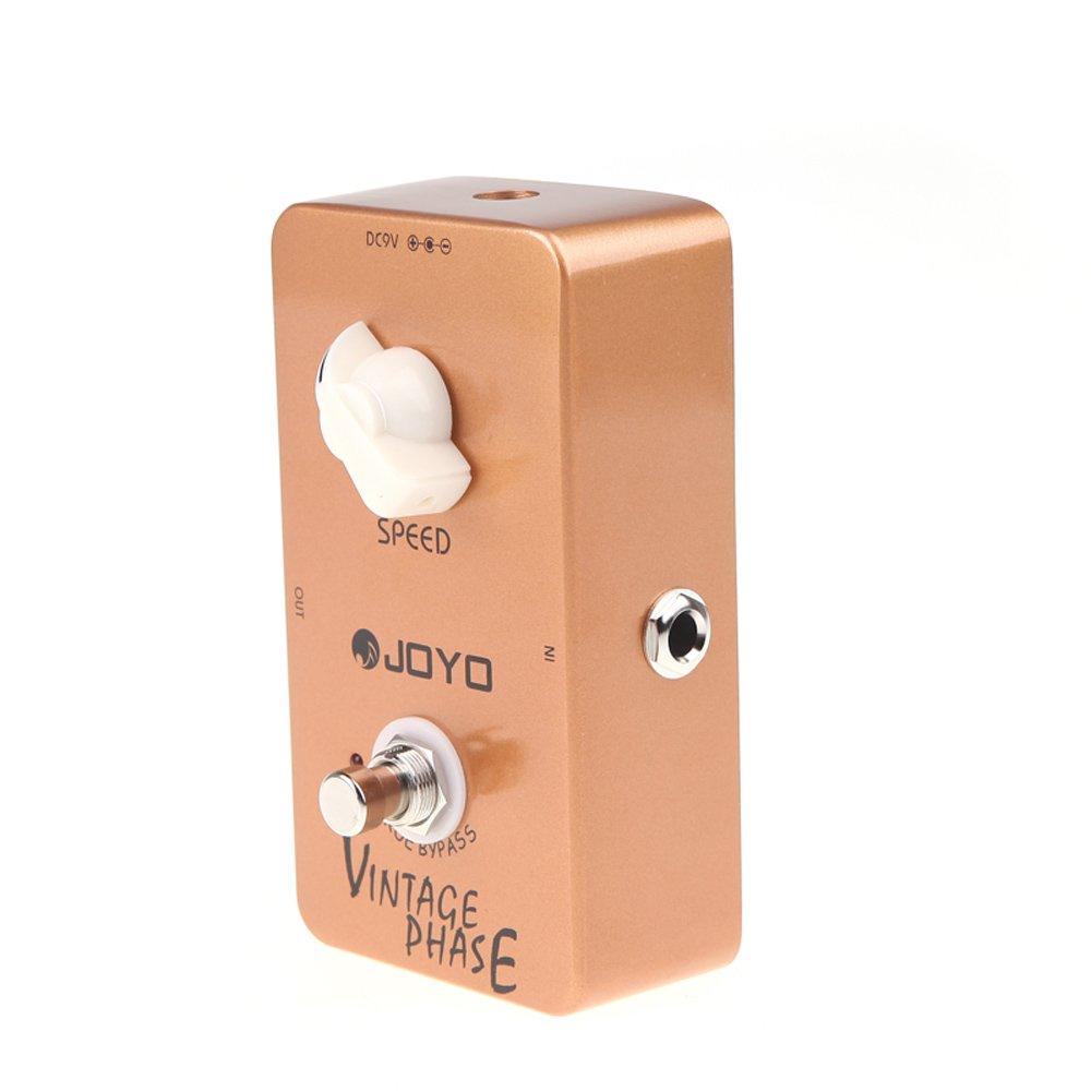 Joyo JF-06 Vintage-Phase Phaser Gitarren-Effekt-Pedal True Bypass