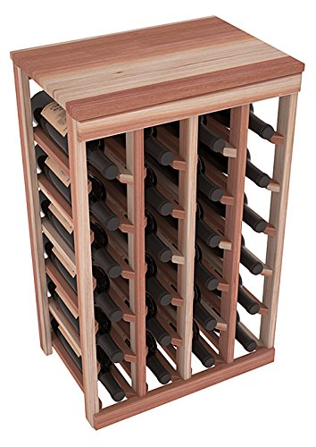 Wine Racks America Redwood 24 Bottle Table Top. 13 Stains to Choose From!