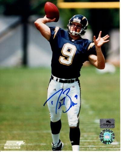 online store 4e153 88bc1 Drew Brees Autographed San Diego Chargers (Throwing) 8x10 ...