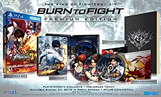 The King of Fighters XIV - Burn to Fight Premium - PlayStation 4 - Special Limited Edition