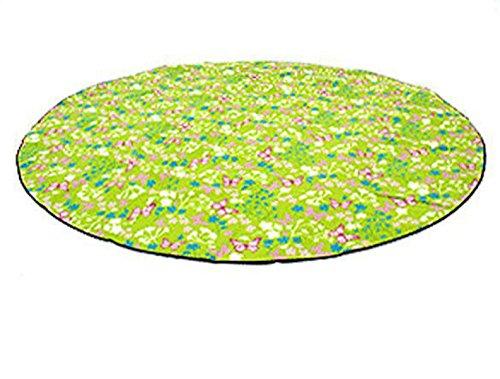 Outdoor Camping Wasserdicht Wildleder Für Familie Kreis- Kinderkissen Kriecht Picknickdecke Extra Groß 300cm Durchmesser,A