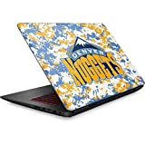 Skinit NBA Denver Nuggets Omen 15in Skin - Denver Nuggets Digi Camo Design - Ultra Thin, Lightweight Vinyl Decal Protection