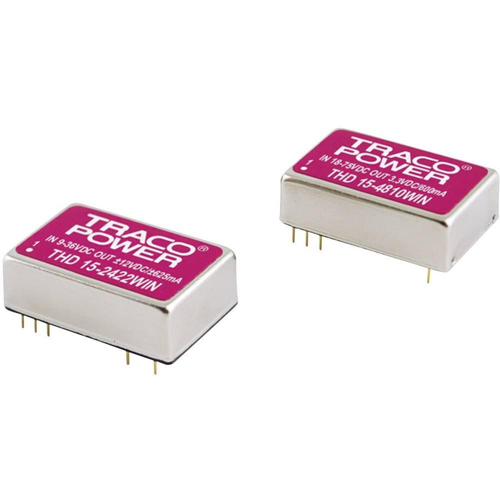 barato Converdeisseur DC DC pour circuits imprimés TracoPower THD 15-4823WIN 15-4823WIN 15-4823WIN 48 V DC 15 V DC, -15 V DC 500 mA 15 W Nombre de sor  servicio honesto