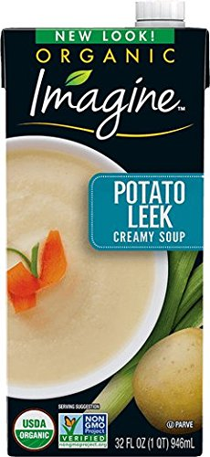 Imagine Organic Soup, Creamy Potato Leek, 32 oz