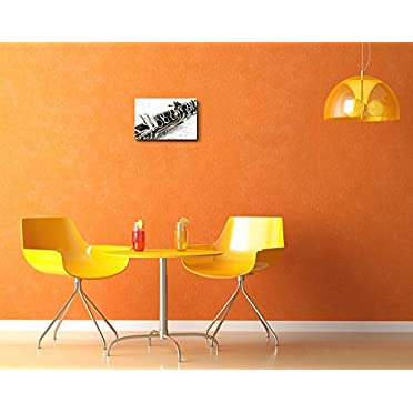 "Canvas Art Wall Decor 24/"" x 36/"" Wall26 Clarinet Closeup"