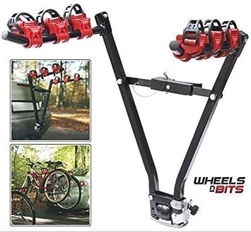 3 Bike Car Rear Tow Bar Towbar Towball Mount Cycle Rack Bicycle